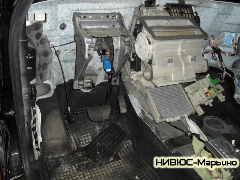ремонт мотора печки на mazda mpv